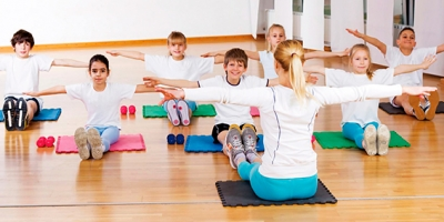 Instructor de Pilates Kids